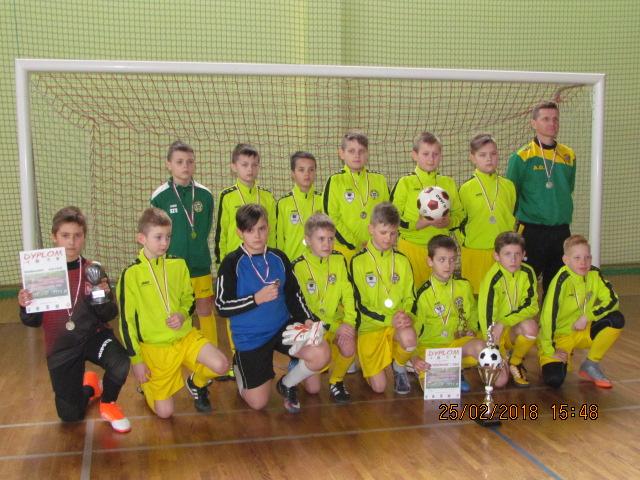 """V Międzynarodowy Halowy Turniej Piłki Nożnej """"Kresy 2018"""" – Drugie Miejsce"""